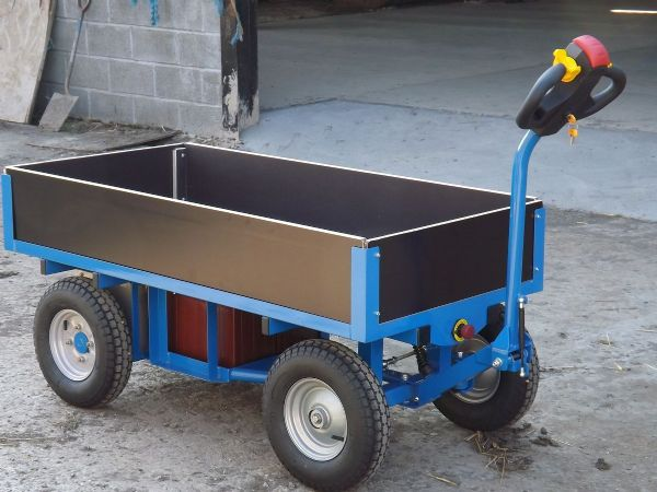 Powered Turntable Truck | Slide In sides